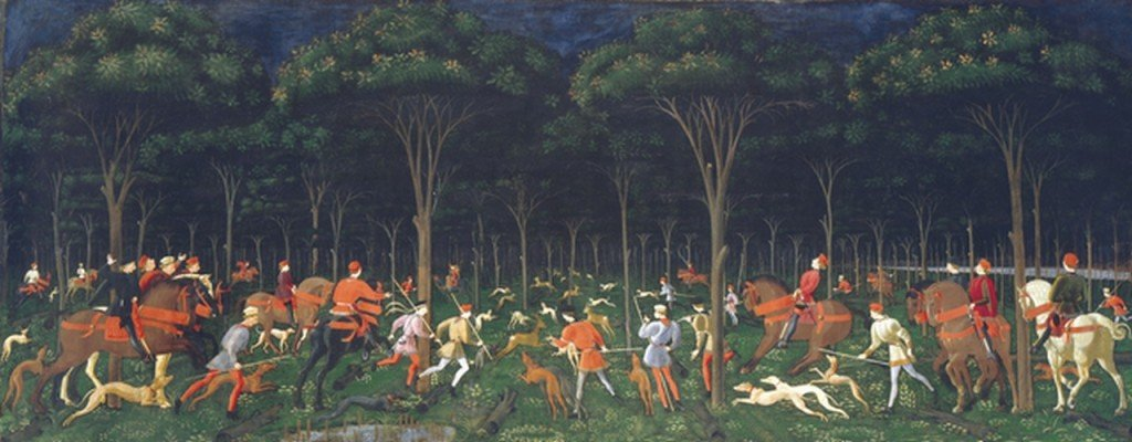 19 UCCELLO Paolo - Chasse nocturne - 1470