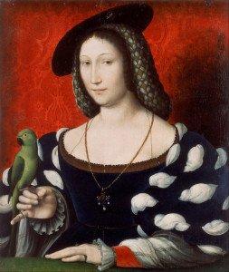 CLOUET Jean (attribué) - Portrait de Marguerite of Navarre - vers 1530