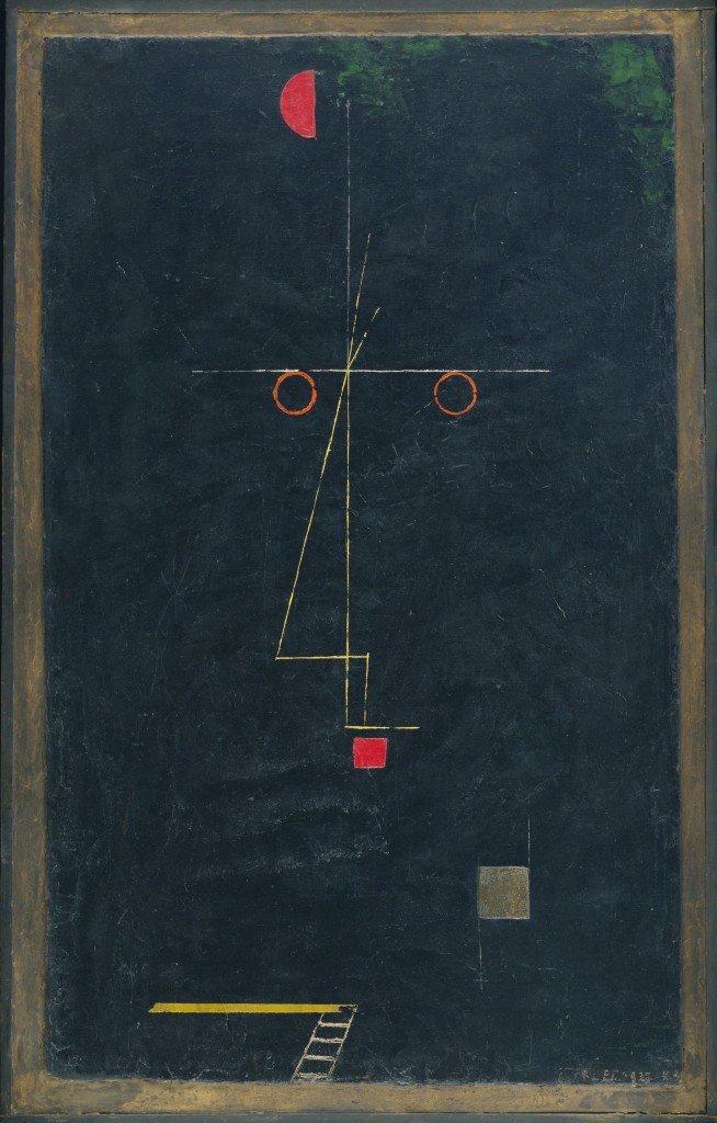 20 KLEE Paul - Portrait d'un équilibriste - 1927