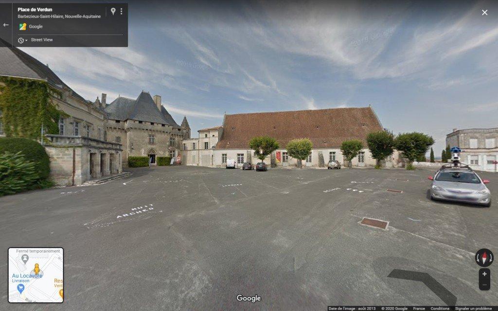 23 Le Point de vue du grutier - copie d'écran de Google Maps - 2020