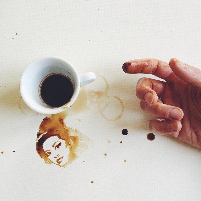 42 Giulia Bernardelli - Dessin au café - 2018...