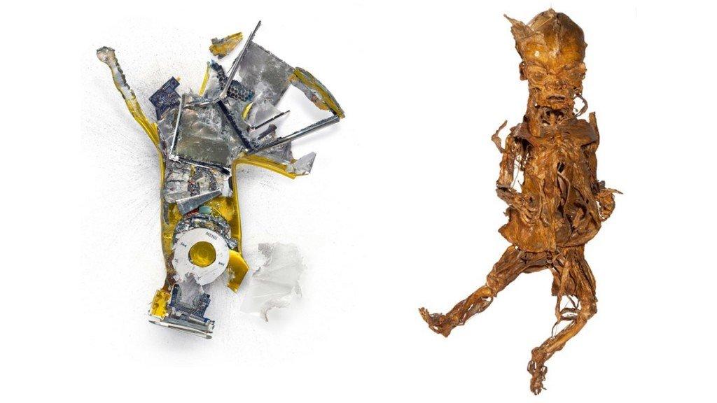 44 Ipod nano (Michaël Tompert, 2010) et Fœtus dansant (Honoré Fragonard, vers 1770)