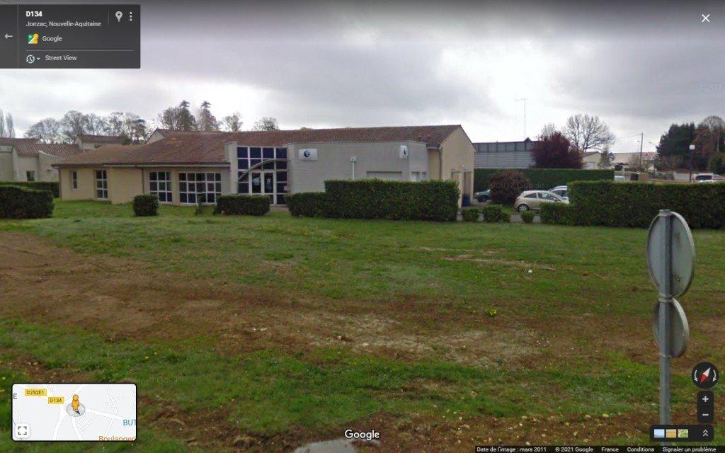 50 Pôle Emploi 2011 - Google Maps, copie d'écran - 2020