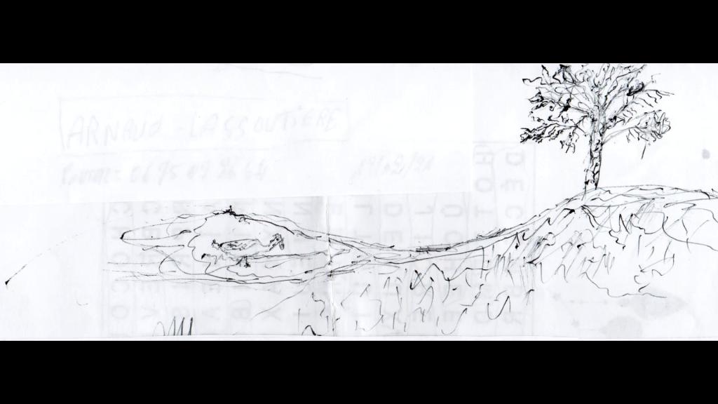 55 Sommeil cuit - dessin scanné de Hamou - 2021