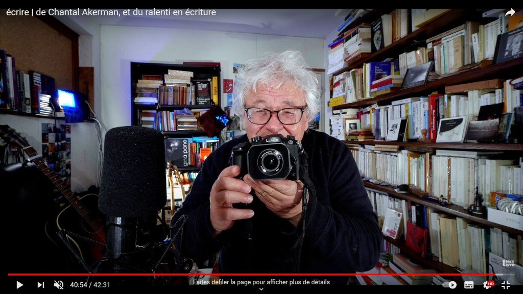 68 François Bon - Écrire, de Chantal Akerman, et du ralenti en écriture – 31-12-2020 - copie d'écran
