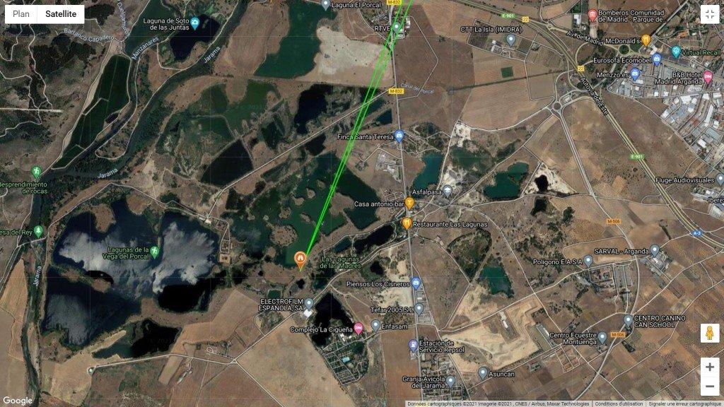 79 Las Lagunas de la Madres - Google Maps, copie d'écran - 2021
