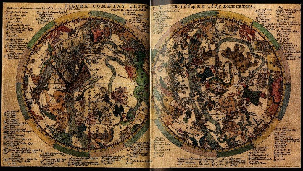 91 Stanislas Lubienietsk - Theatrum cometicum - 1667