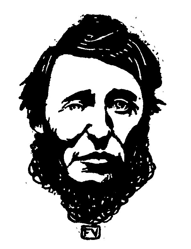 85 Félix Valloton - Portrait d'Henry David Thoreau - 1896jpg