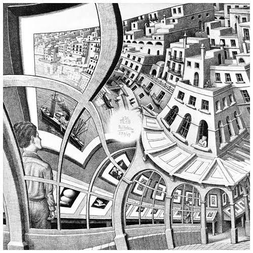 ESCHER MC - Print gallery - 1956