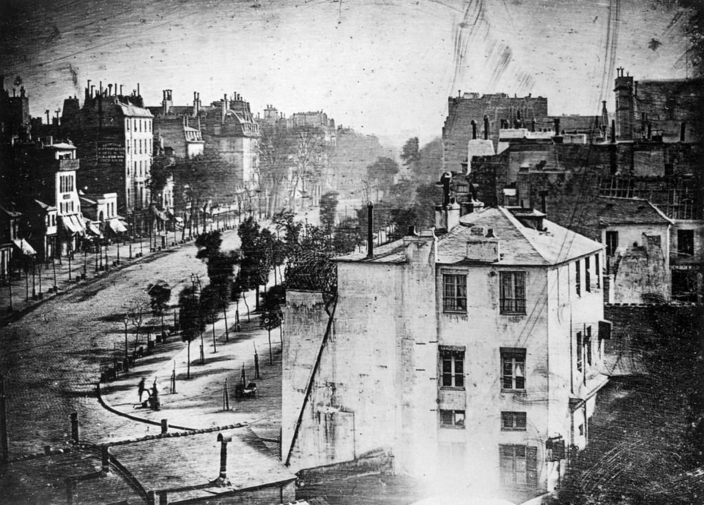 158 Boulevard du Temple - Louis Daguerre – 1838 (à deux pas de la rue des Marais-du-Temple)