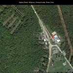 159 Autour de Spleen Road, Ridgway, Pennsylvanie, États-Unis – via Google Maps – copie d'écran, 2021